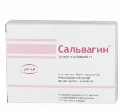Гель для интимной гигиены, 5 мл №5 Сальвагин кристалматрикс-ФС