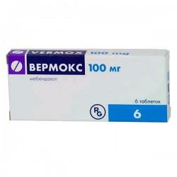 Вермокс, табл. 100 мг №6